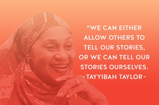 17. Tayyibah Taylor: Editor, Publisher, Activist