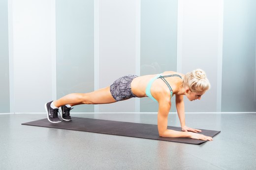1. Plank Up-Down