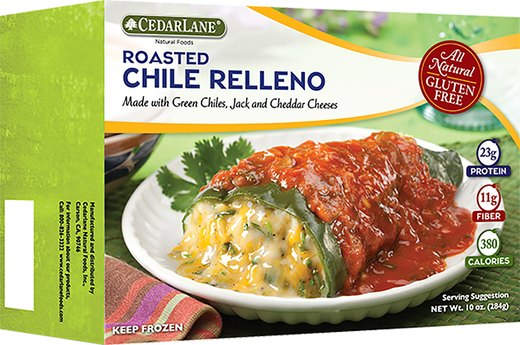 1. WORST: CedarLane Roasted Chili Rellenos
