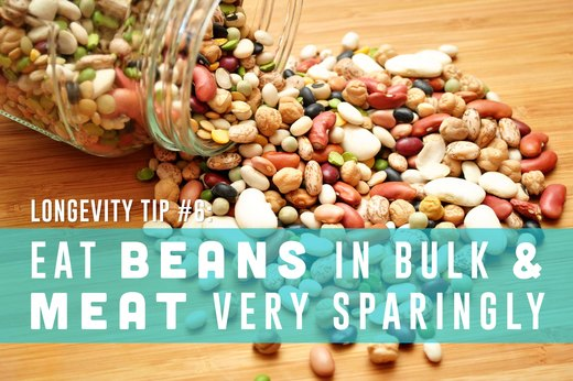 6. Eat Beans in Bulk and Meat Very Sparingly
