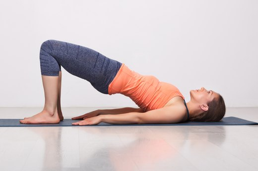 4. Bridge Pose