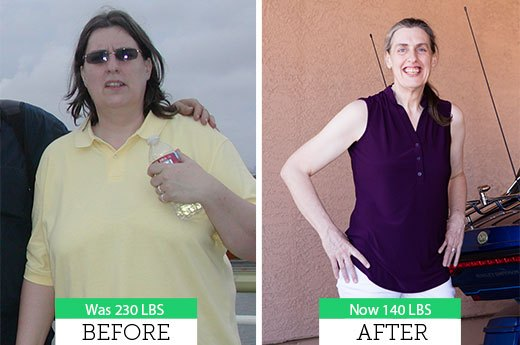 How Teresa C. Lost 90 Pounds