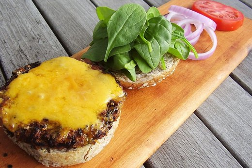 6. All-American Vegan Cheeseburgers