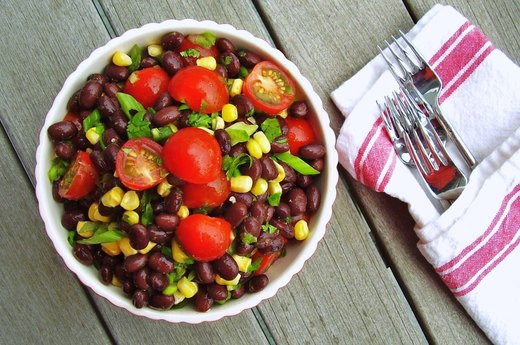 7. Cowgirl Black Bean Salad