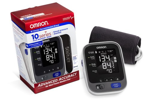 7. Omron 10 Series Blood Pressure Monitor