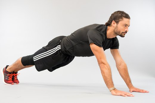 Upper Body: Elbow to Hand Press-Up