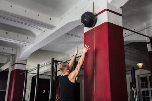 4. FOR: Overhead Presses; DO: Overhead Medicine-Ball Throws