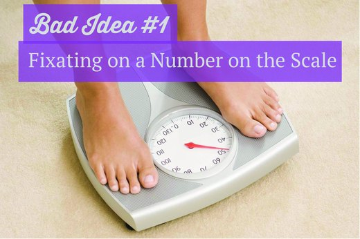1. Fixating on a Number on the Scale