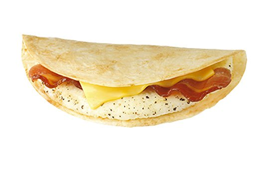 3. Dunkin' Donuts: Ham, Egg, and Cheese Wake-Up Wrap