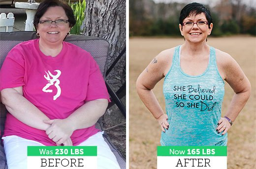 How Kim B. Lost 65 Pounds!
