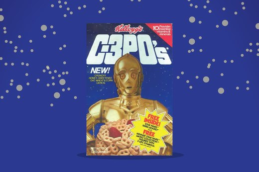 32. C3PO's Cereal