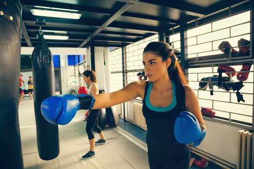 1. Angry? Try Kickboxing