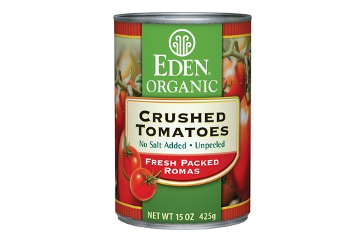 8. Canned Produce: Eden Organic Crushed Tomatoes