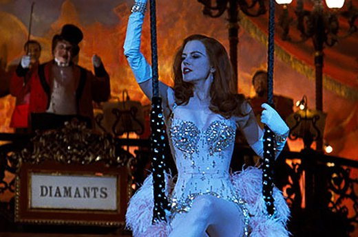 "33. Nicole Kidman in ""Moulin Rouge"""