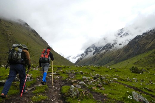 6. The Salkantay Trail, Machu Picchu, Peru