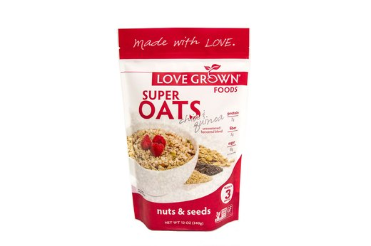 4. Cereal and Oatmeal: Love Grown Foods
