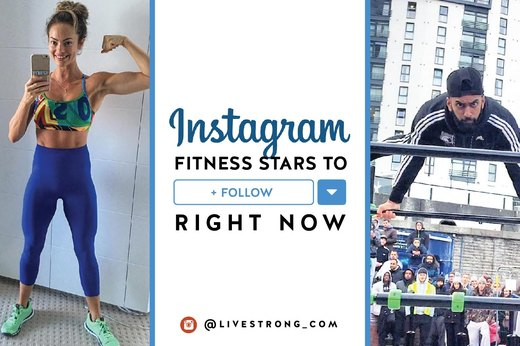 Instagram Fitness Stars to Follow Right Now