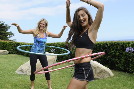 6. Hula Hooping