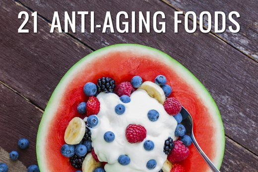 26 Anti-Aging Foods to Keep You Looking Feeling Young