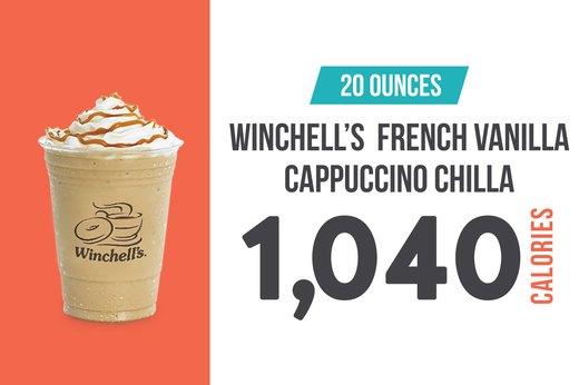 #1: Winchell's French Vanilla Caramel Cappuccino Chilla