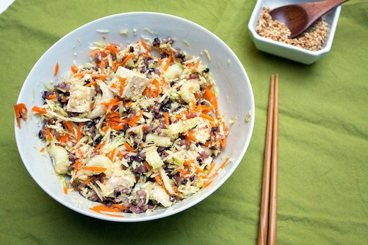 2. Tofu and Mixed Rice Grain Salad
