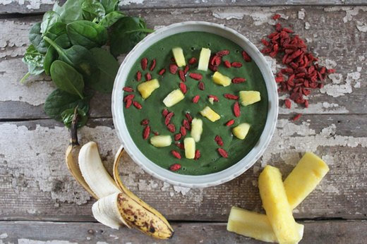 5. Tropical Superfood Smoothie Bowl