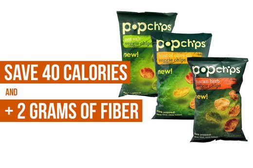 1. Popchips Veggie Chips