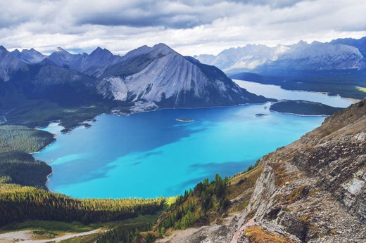 7. The Canadian Rockies