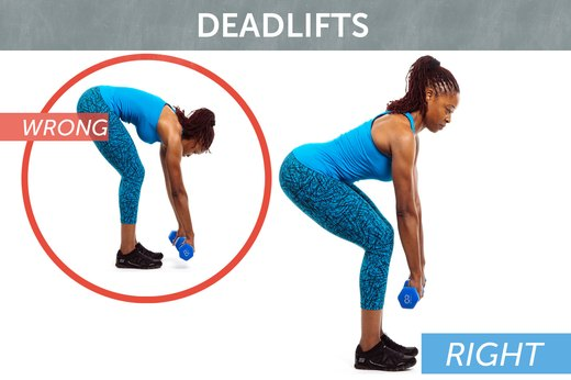 3. Deadlifts