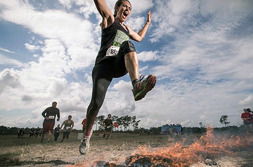 1. Warrior Dash: Warrior Roast