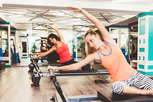 2. Pilates Promote Weight Loss