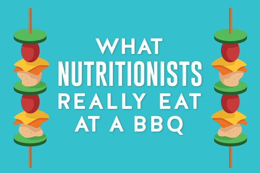 What Nutritionists Really Eat at a BBQ