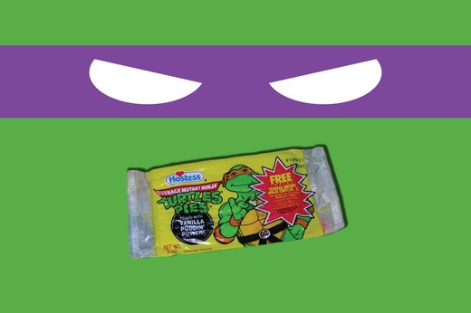 18. Teenage Mutant Ninja Turtles Turtle Pies