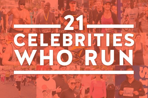 21 Celebrities Who Run
