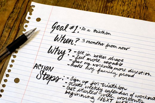 5. Write Down Your Goals