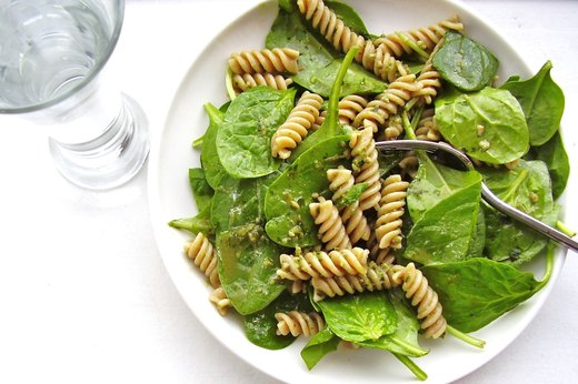 6. Power Pesto Pasta Salad