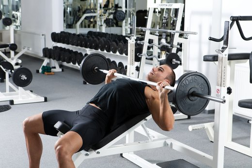 "8. ""Don't arch your back on the bench press."""