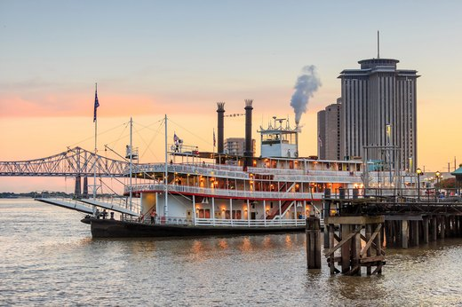 3. New Orleans, Louisiana – 36.9