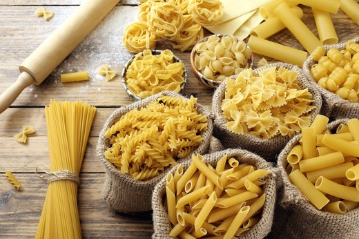 5. Pick your pasta shape wisely.