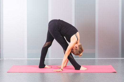 3. Intense Side Stretch (Parsvottanasana)