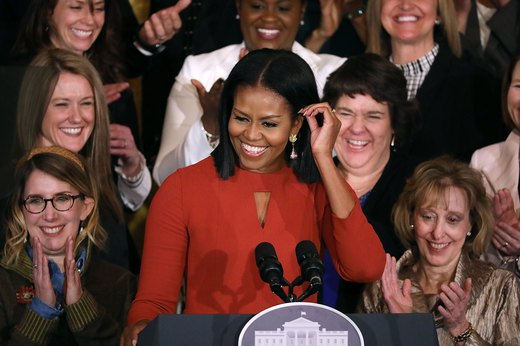 22. Michelle Obama, former first lady of the United States