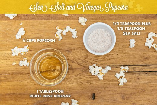 7. Sea Salt and Vinegar Popcorn