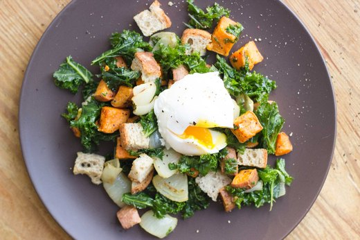 5. Winter Panzanella Breakfast Salad