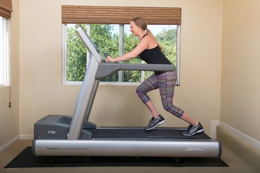 1. Machine-Off Treadmill Sprints