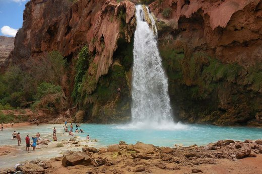 13. Havasupai Falls, Grand Canyon, Arizona