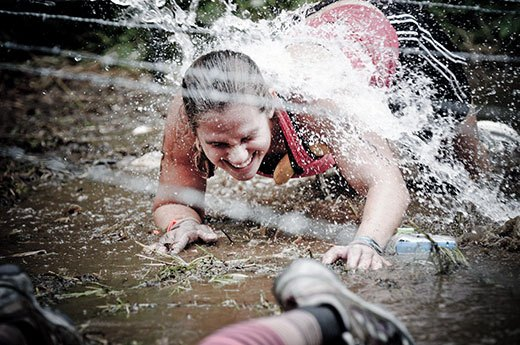 10. Spartan Beast: Barbed Wire Crawl