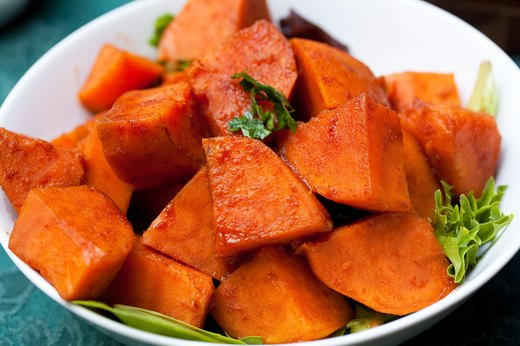 7. Smoky Maple Sweet Potatoes