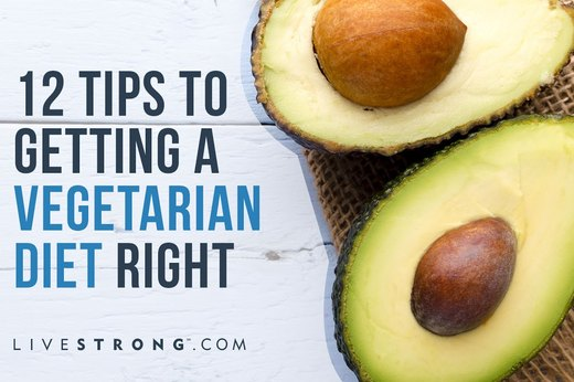 12 Tips to Getting a Vegetarian Diet Right