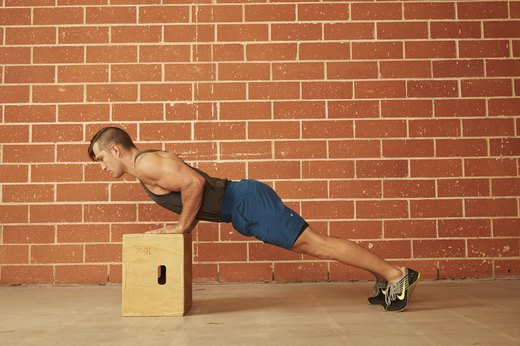 15. Incline Push-Up