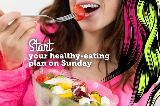 8. Start Your Healthy-Eating Plan on Sunday